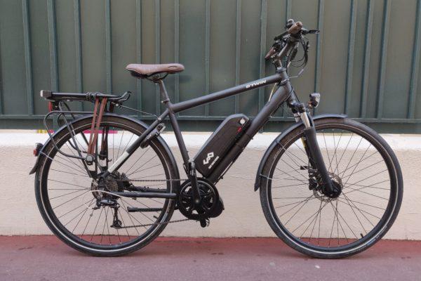 Mid motor Btwin Hoprider 900