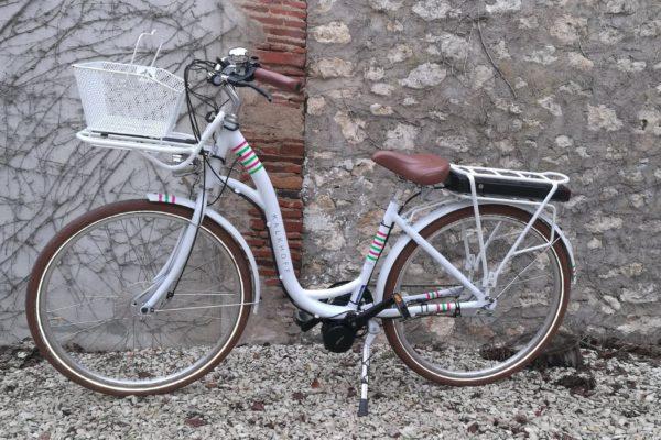Mid motor Batavus blanc