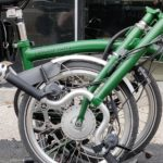 kit electrification velo brompton vae plie vert - monspad