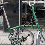 kit electrification velo brompton vae semiplie vert - monspad